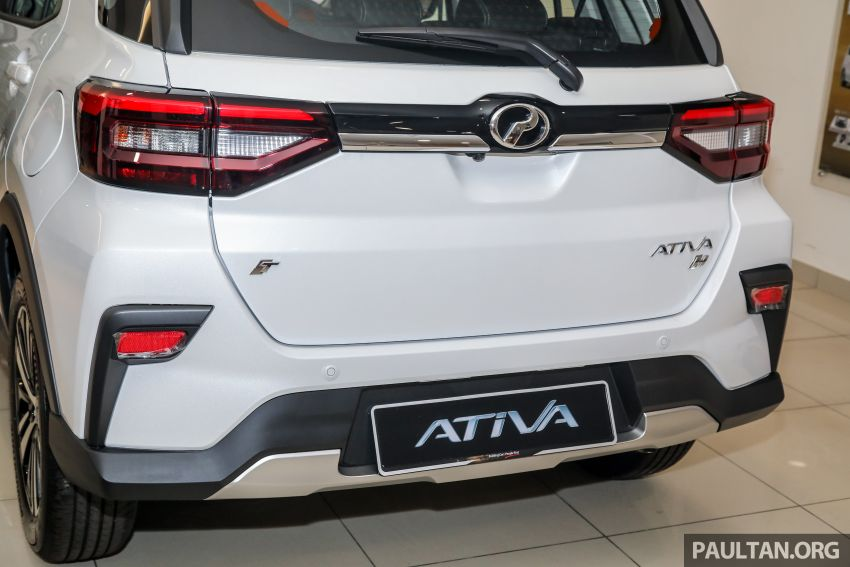 2021 Perodua Ativa SUV launched in Malaysia – X, H, AV specs; 1.0L Turbo CVT; from RM61,500 to RM72k Image #1257289