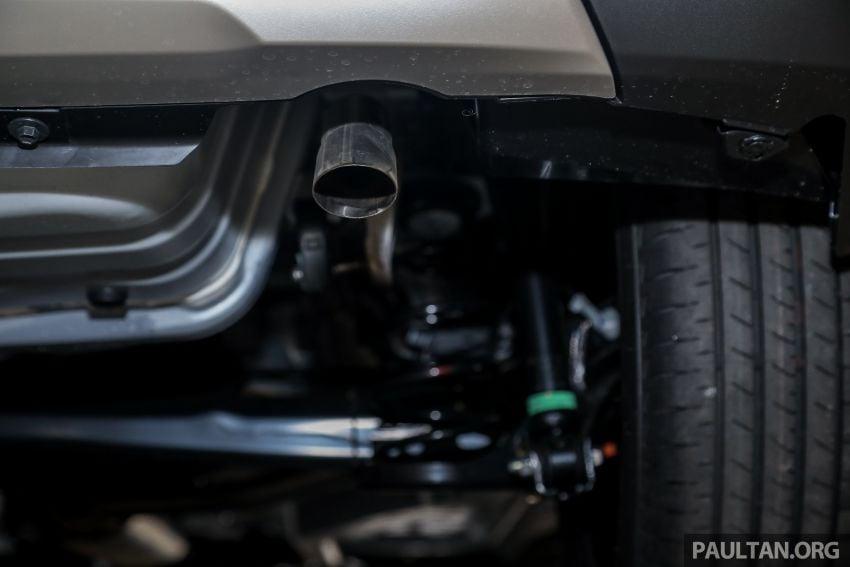 Perodua Ativa 2021 dilancarkan — varian X, H dan AV, 1.0L turbo dengan CVT, ASA 3.0, dari RM61k-RM72k Image #1257393