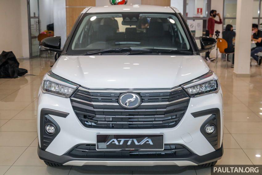 Perodua Ativa 2021 dilancarkan — varian X, H dan AV, 1.0L turbo dengan CVT, ASA 3.0, dari RM61k-RM72k Image #1257846