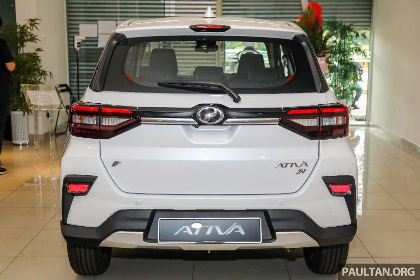 Perodua Ativa 2021 dilancarkan — varian X, H dan AV, 1.0L turbo dengan CVT, ASA 3.0, dari RM61k-RM72k Image #1257361