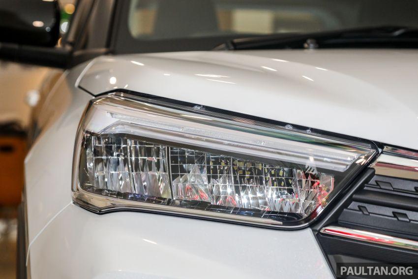 Perodua Ativa 2021 dilancarkan — varian X, H dan AV, 1.0L turbo dengan CVT, ASA 3.0, dari RM61k-RM72k Image #1257365