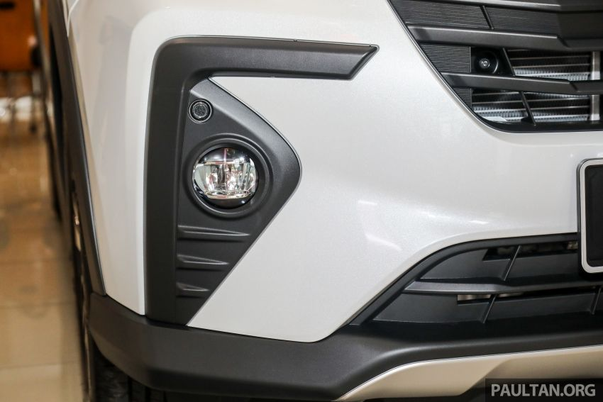 Perodua Ativa 2021 dilancarkan — varian X, H dan AV, 1.0L turbo dengan CVT, ASA 3.0, dari RM61k-RM72k Image #1257366