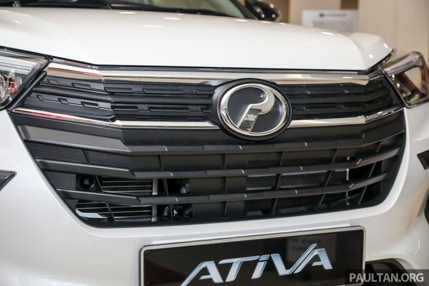 Perodua Ativa 2021 dilancarkan — varian X, H dan AV, 1.0L turbo dengan CVT, ASA 3.0, dari RM61k-RM72k Image #1257367
