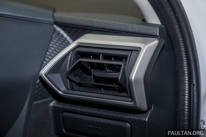 Perodua Ativa 2021 dilancarkan — varian X, H dan AV, 1.0L turbo dengan CVT, ASA 3.0, dari RM61k-RM72k Image #1257431