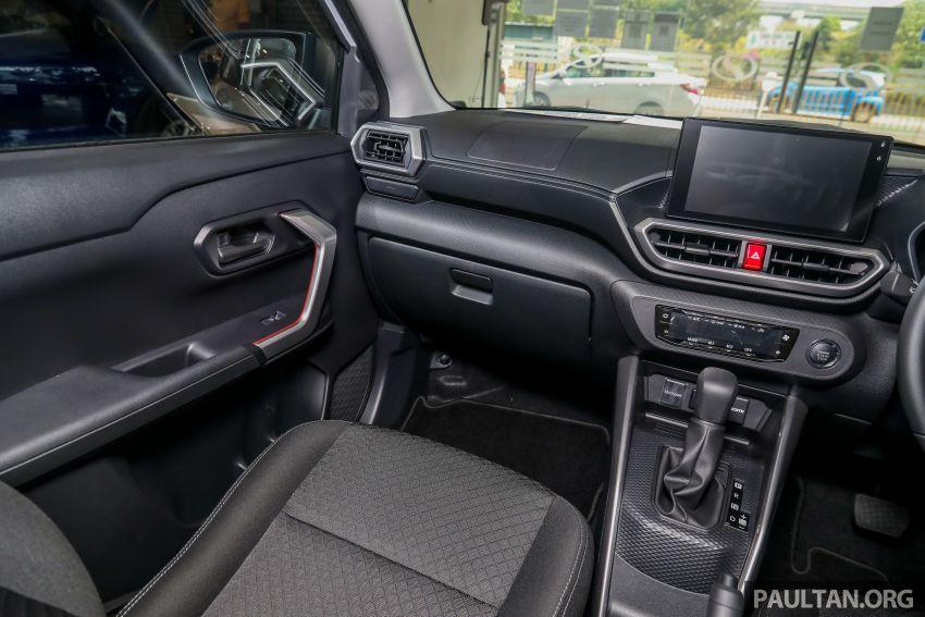 Perodua Ativa 2021 dilancarkan — varian X, H dan AV, 1.0L turbo dengan CVT, ASA 3.0, dari RM61k-RM72k Image #1257435