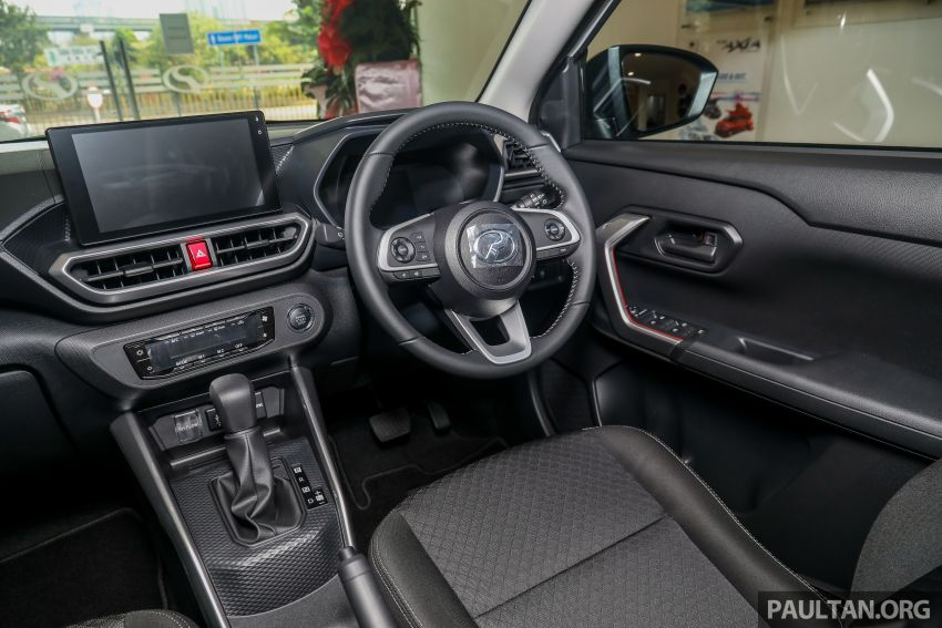 2021 Perodua Ativa SUV launched in Malaysia – X, H, AV specs; 1.0L Turbo CVT; from RM61,500 to RM72k Image #1257319