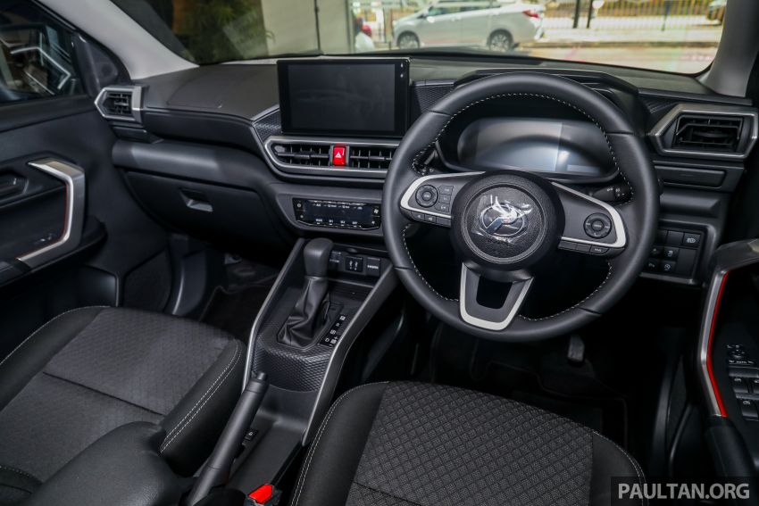 2021 Perodua Ativa SUV launched in Malaysia – X, H, AV specs; 1.0L Turbo CVT; from RM61,500 to RM72k Image #1257304