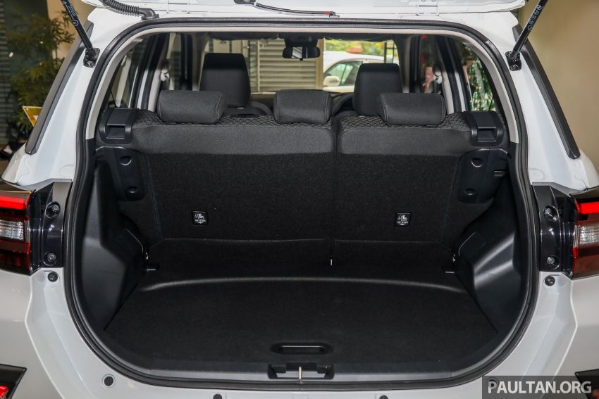 2021 Perodua Ativa SUV launched in Malaysia – X, H, AV specs; 1.0L Turbo CVT; from RM61,500 to RM72k Image #1257334