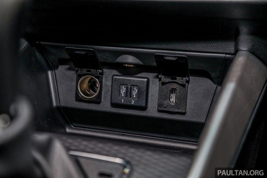 Perodua Ativa 2021 dilancarkan — varian X, H dan AV, 1.0L turbo dengan CVT, ASA 3.0, dari RM61k-RM72k Image #1257420