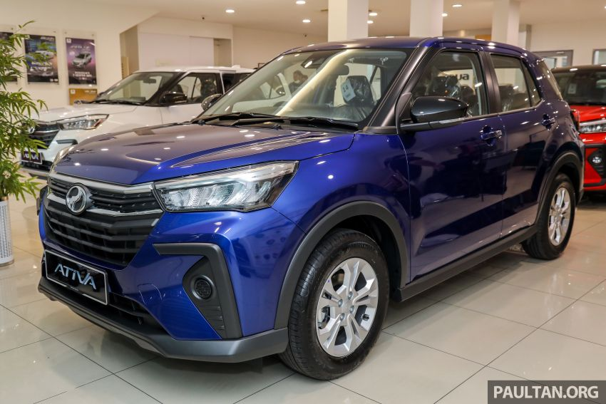 2021 Perodua Ativa SUV launched in Malaysia – X, H, AV specs; 1.0L Turbo CVT; from RM61,500 to RM72k Image #1257180