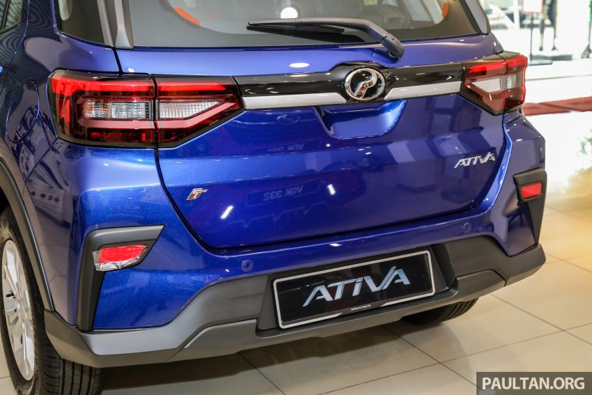 2021 Perodua Ativa SUV launched in Malaysia – X, H, AV specs; 1.0L Turbo CVT; from RM61,500 to RM72k Image #1257213