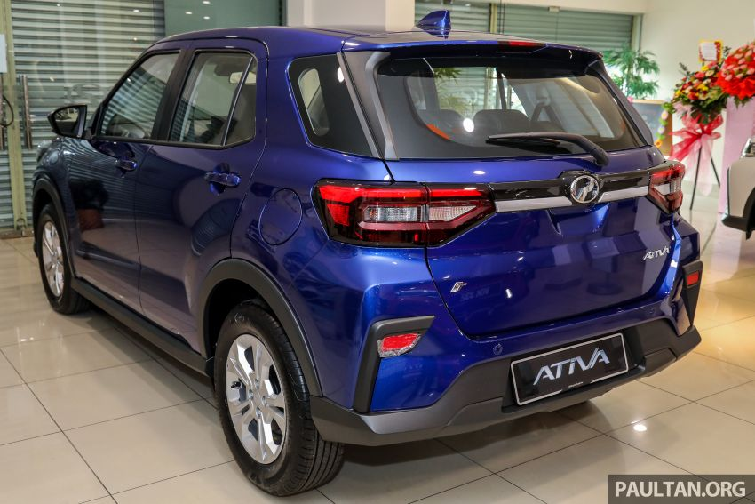 2021 Perodua Ativa SUV launched in Malaysia – X, H, AV specs; 1.0L Turbo CVT; from RM61,500 to RM72k Image #1257182