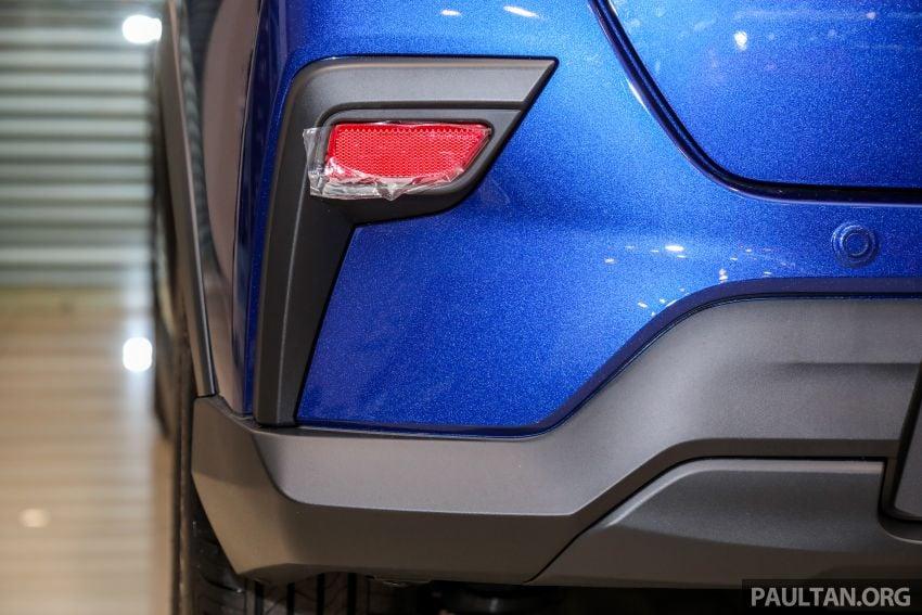 Perodua Ativa 2021 dilancarkan — varian X, H dan AV, 1.0L turbo dengan CVT, ASA 3.0, dari RM61k-RM72k Image #1257513
