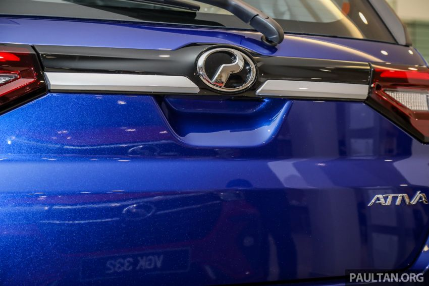 Perodua Ativa 2021 dilancarkan — varian X, H dan AV, 1.0L turbo dengan CVT, ASA 3.0, dari RM61k-RM72k Image #1257514