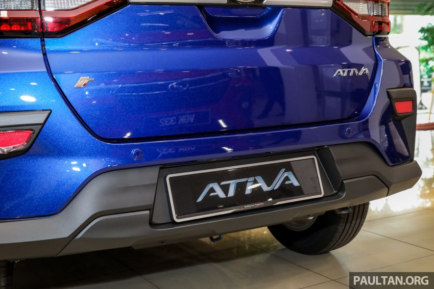 2021 Perodua Ativa SUV launched in Malaysia – X, H, AV specs; 1.0L Turbo CVT; from RM61,500 to RM72k Image #1257220