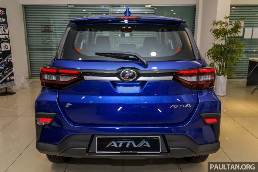 2021 Perodua Ativa SUV launched in Malaysia – X, H, AV specs; 1.0L Turbo CVT; from RM61,500 to RM72k Image #1257186
