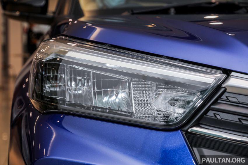 Perodua Ativa 2021 dilancarkan — varian X, H dan AV, 1.0L turbo dengan CVT, ASA 3.0, dari RM61k-RM72k Image #1257493
