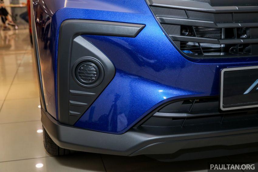 Perodua Ativa 2021 dilancarkan — varian X, H dan AV, 1.0L turbo dengan CVT, ASA 3.0, dari RM61k-RM72k Image #1257496