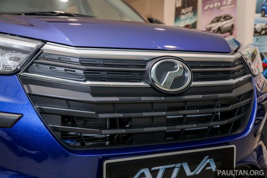Perodua Ativa 2021 dilancarkan — varian X, H dan AV, 1.0L turbo dengan CVT, ASA 3.0, dari RM61k-RM72k Image #1257498