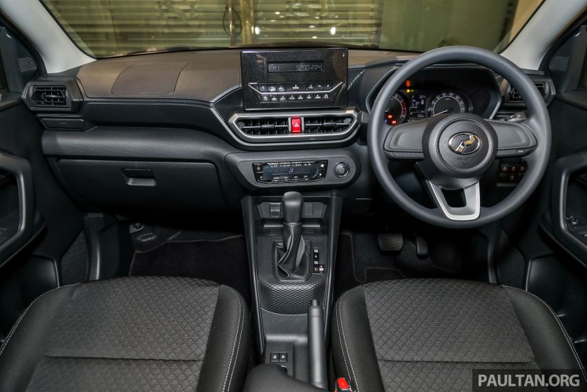2021 Perodua Ativa SUV launched in Malaysia – X, H, AV specs; 1.0L Turbo CVT; from RM61,500 to RM72k Image #1257231