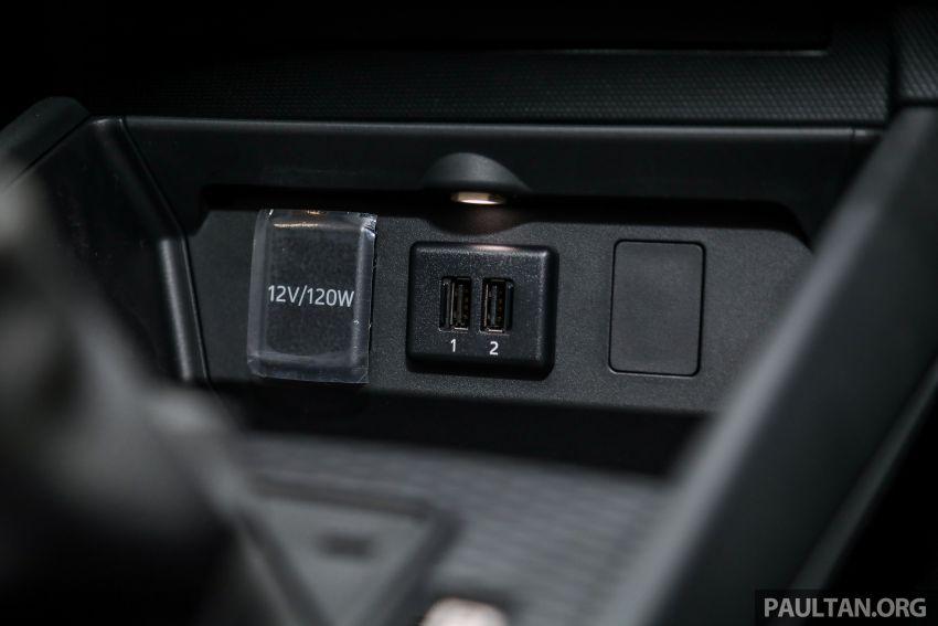 Perodua Ativa 2021 dilancarkan — varian X, H dan AV, 1.0L turbo dengan CVT, ASA 3.0, dari RM61k-RM72k Image #1257536