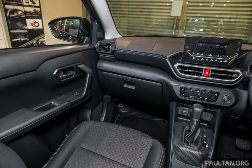 2021 Perodua Ativa SUV launched in Malaysia – X, H, AV specs; 1.0L Turbo CVT; from RM61,500 to RM72k Image #1257254