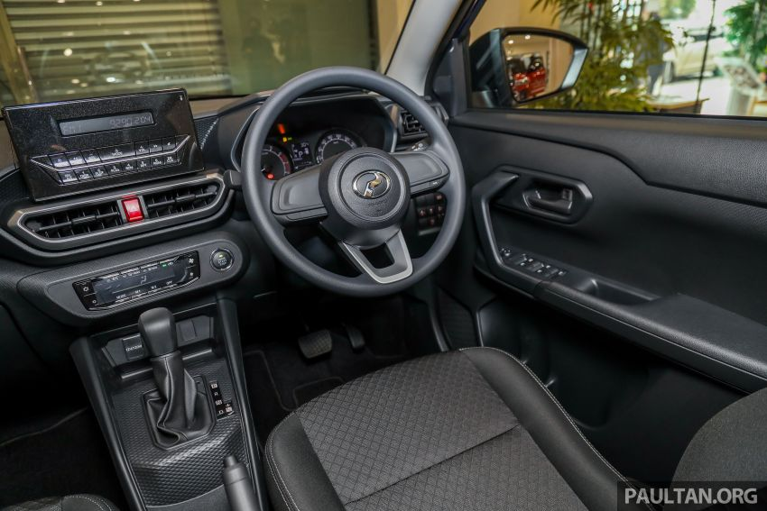 2021 Perodua Ativa SUV launched in Malaysia – X, H, AV specs; 1.0L Turbo CVT; from RM61,500 to RM72k Image #1257255