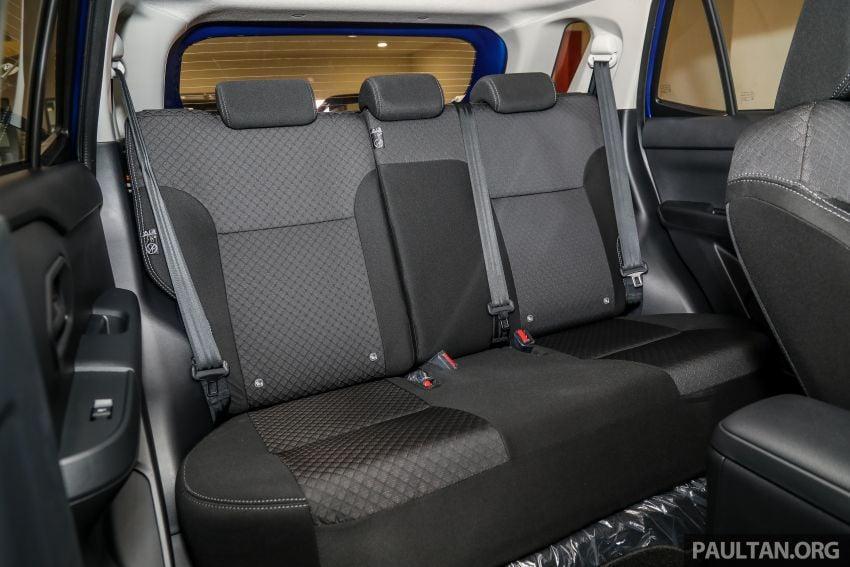Perodua Ativa 2021 dilancarkan — varian X, H dan AV, 1.0L turbo dengan CVT, ASA 3.0, dari RM61k-RM72k Image #1257559