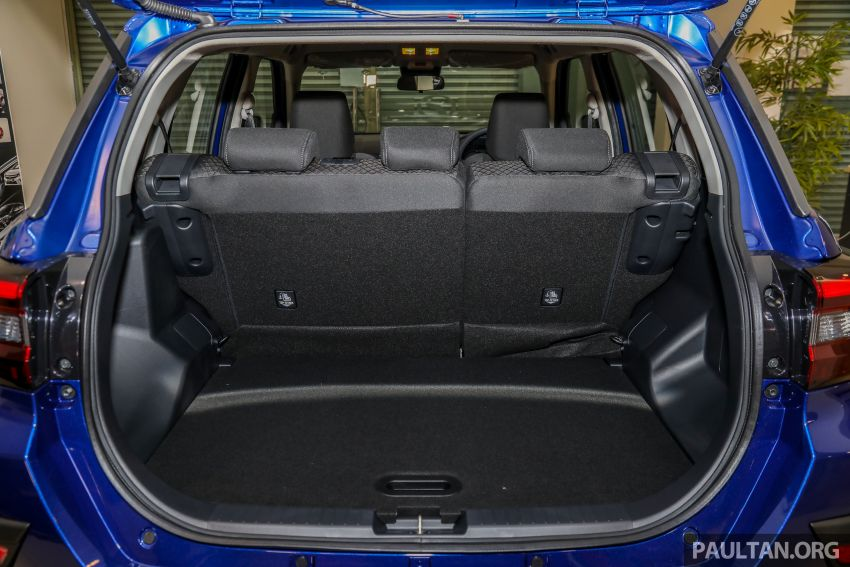 2021 Perodua Ativa SUV launched in Malaysia – X, H, AV specs; 1.0L Turbo CVT; from RM61,500 to RM72k Image #1257266