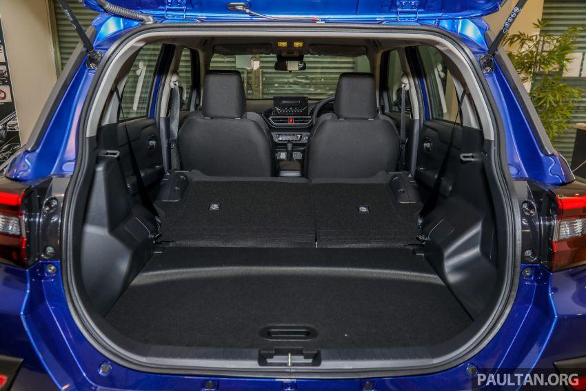 Perodua Ativa 2021 dilancarkan — varian X, H dan AV, 1.0L turbo dengan CVT, ASA 3.0, dari RM61k-RM72k Image #1257565