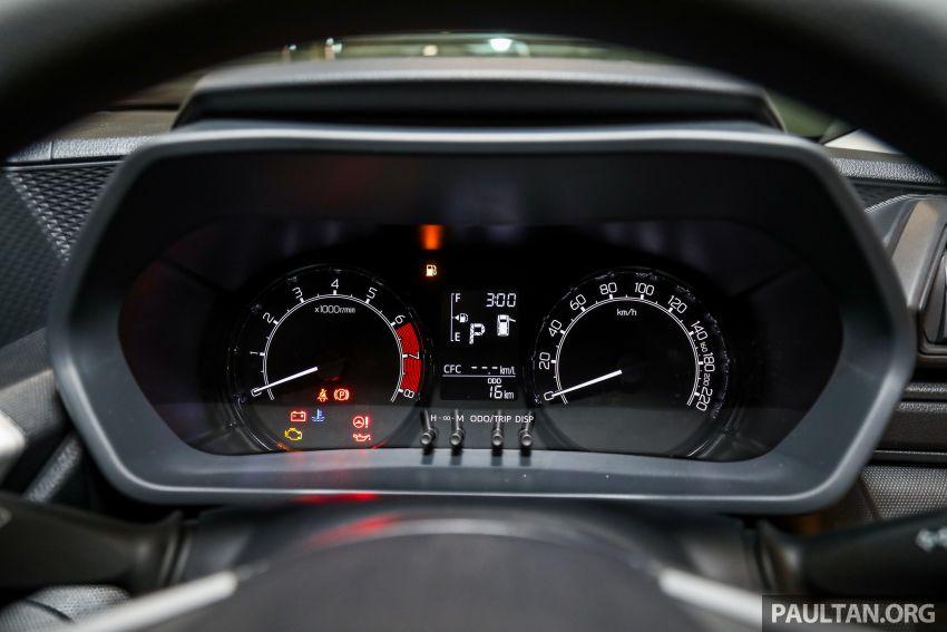 Perodua Ativa 2021 dilancarkan — varian X, H dan AV, 1.0L turbo dengan CVT, ASA 3.0, dari RM61k-RM72k Image #1257527