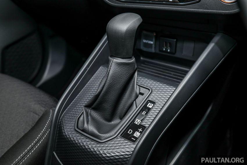 Perodua Ativa 2021 dilancarkan — varian X, H dan AV, 1.0L turbo dengan CVT, ASA 3.0, dari RM61k-RM72k Image #1257533
