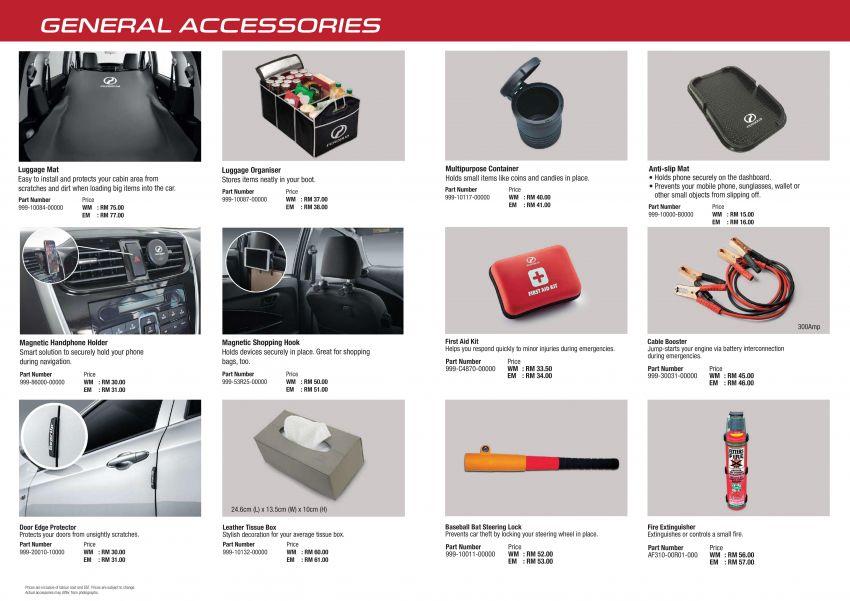 Perodua Ativa 2021 – pelbagai pilihan aksesori GearUp Image #1257500