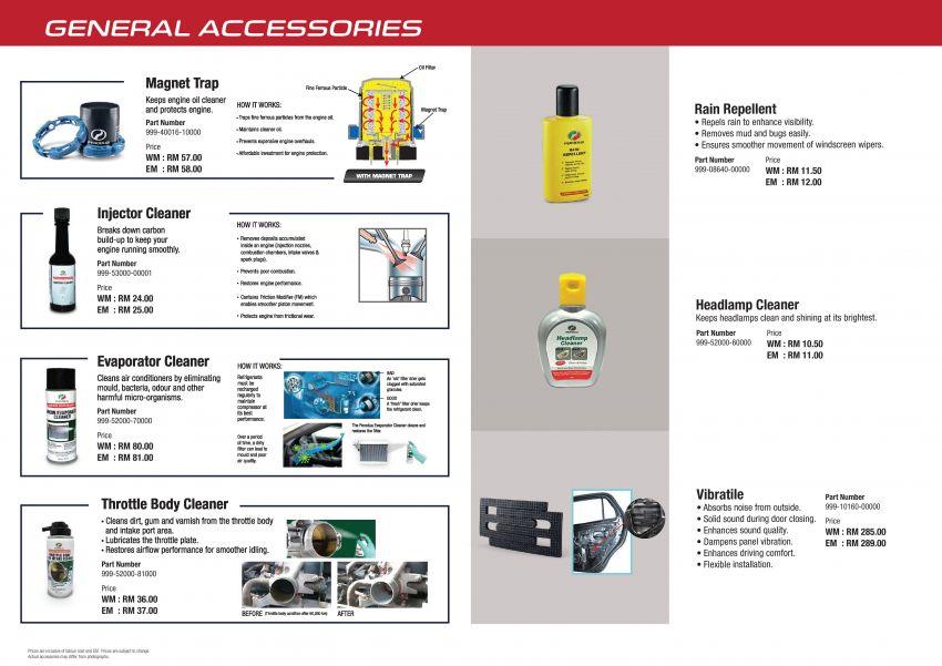 Perodua Ativa 2021 – pelbagai pilihan aksesori GearUp Image #1257505