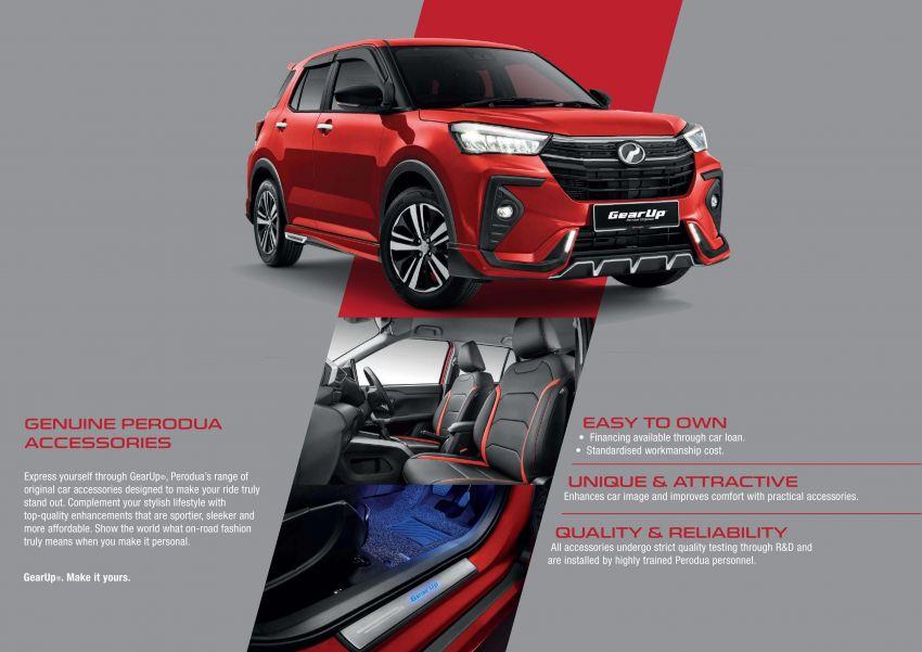 Perodua Ativa 2021 – pelbagai pilihan aksesori GearUp Image #1257479