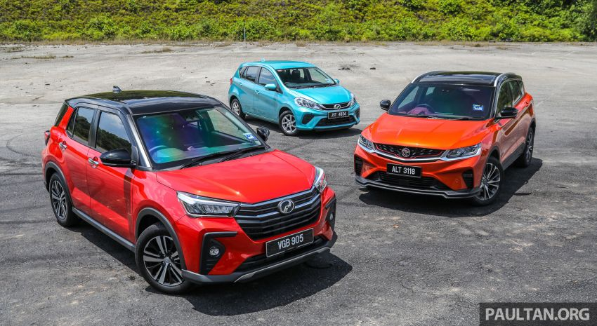 2021 Perodua Ativa vs Myvi vs Proton X50 – size and price compared, where does the new SUV stand? Image #1259904