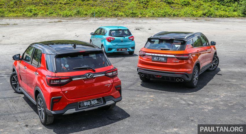 2021 Perodua Ativa vs Myvi vs Proton X50 – size and price compared, where does the new SUV stand? Image #1259905