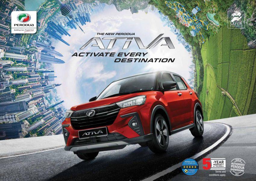 Perodua Ativa 2021 dilancarkan — varian X, H dan AV, 1.0L turbo dengan CVT, ASA 3.0, dari RM61k-RM72k Image #1257698