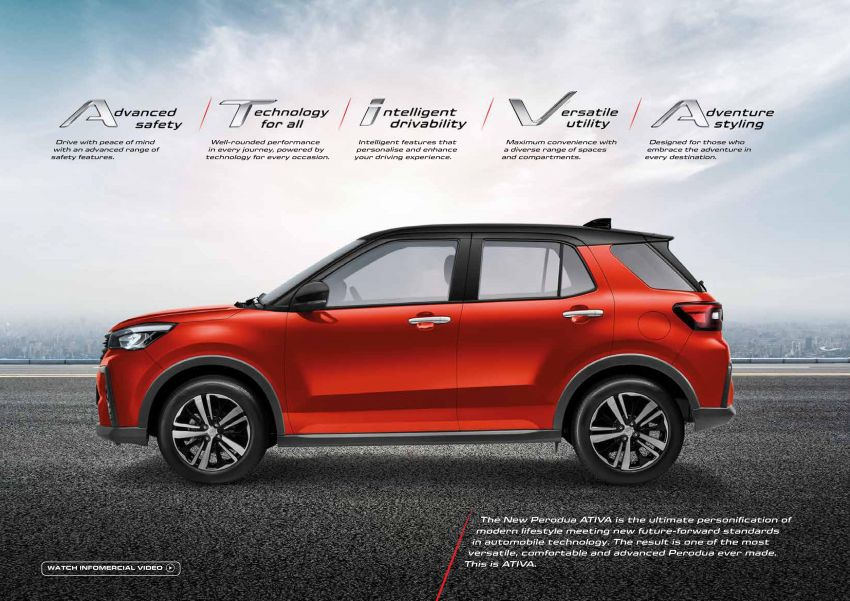 2021 Perodua Ativa SUV launched in Malaysia – X, H, AV specs; 1.0L Turbo CVT; from RM61,500 to RM72k Image #1257567
