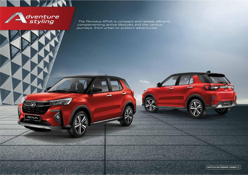 2021 Perodua Ativa SUV launched in Malaysia – X, H, AV specs; 1.0L Turbo CVT; from RM61,500 to RM72k Image #1257578