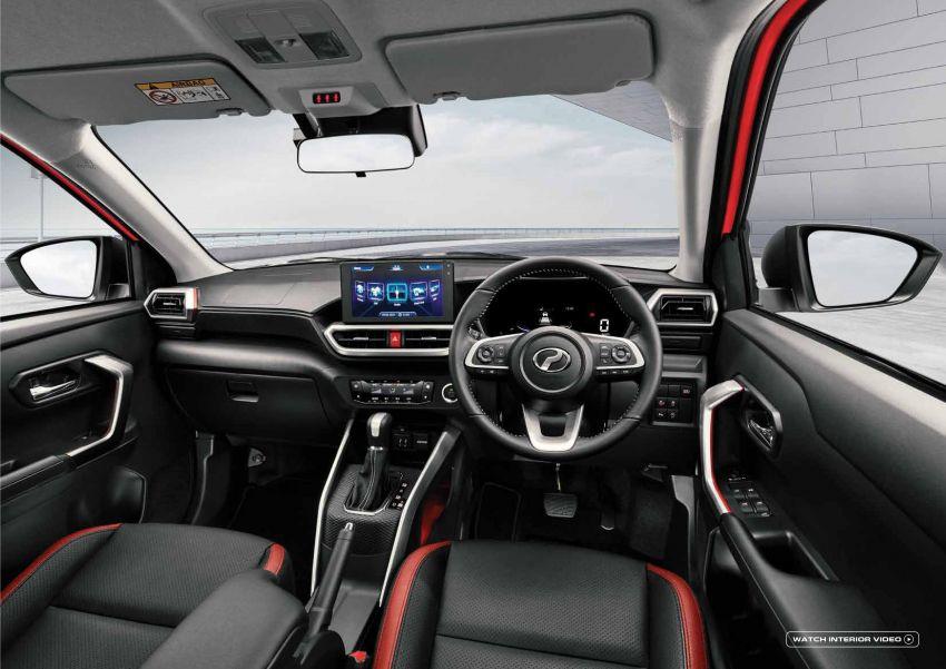 Perodua Ativa 2021 dilancarkan — varian X, H dan AV, 1.0L turbo dengan CVT, ASA 3.0, dari RM61k-RM72k Image #1257717