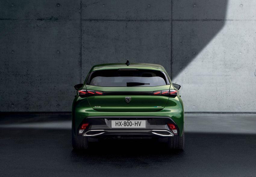 2021 Peugeot 308 revealed – revised C-segment hatch gets new lion badge, bold design and two PHEVs Image #1265381