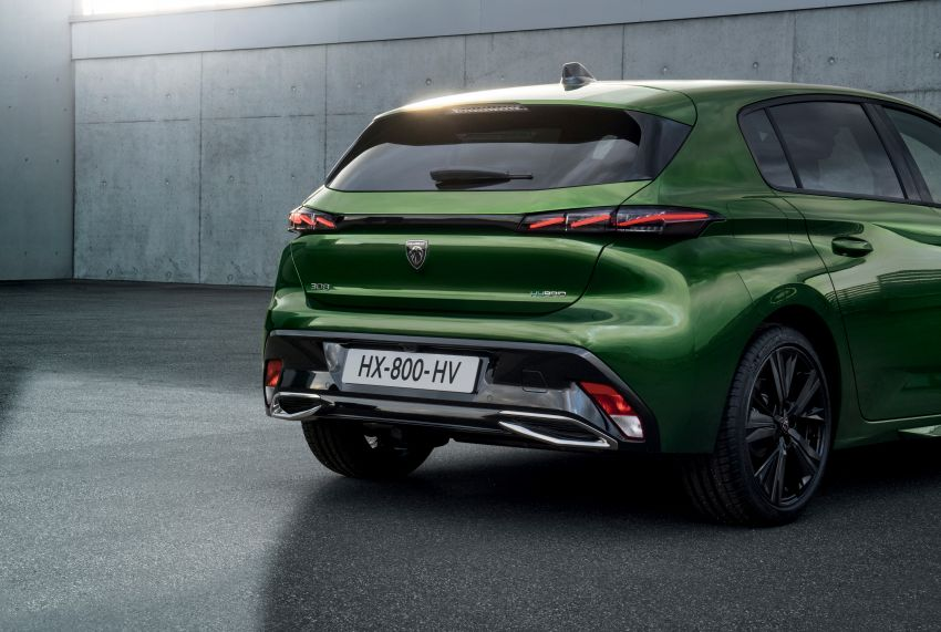 2021 Peugeot 308 revealed – revised C-segment hatch gets new lion badge, bold design and two PHEVs Image #1265382