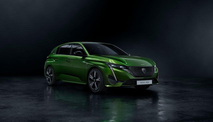 2021 Peugeot 308 revealed – revised C-segment hatch gets new lion badge, bold design and two PHEVs Image #1265384