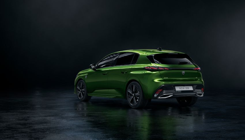 2021 Peugeot 308 revealed – revised C-segment hatch gets new lion badge, bold design and two PHEVs Image #1265385