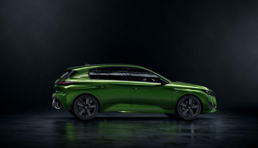 2021 Peugeot 308 revealed – revised C-segment hatch gets new lion badge, bold design and two PHEVs Image #1265387
