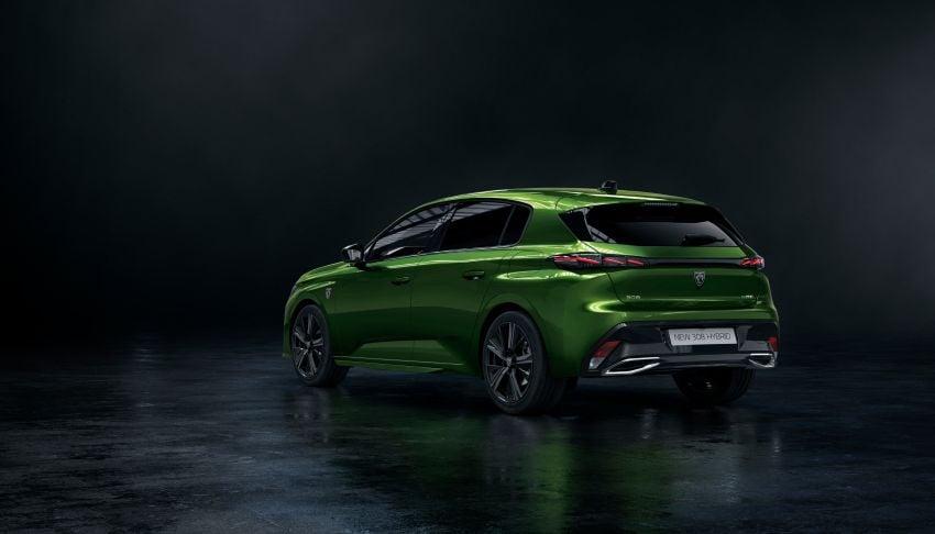 2021 Peugeot 308 revealed – revised C-segment hatch gets new lion badge, bold design and two PHEVs Image #1265394