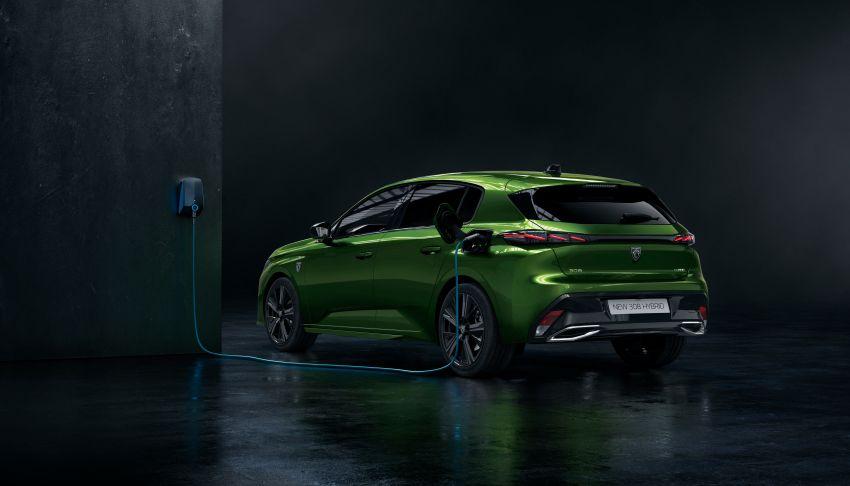 2021 Peugeot 308 revealed – revised C-segment hatch gets new lion badge, bold design and two PHEVs Image #1265399