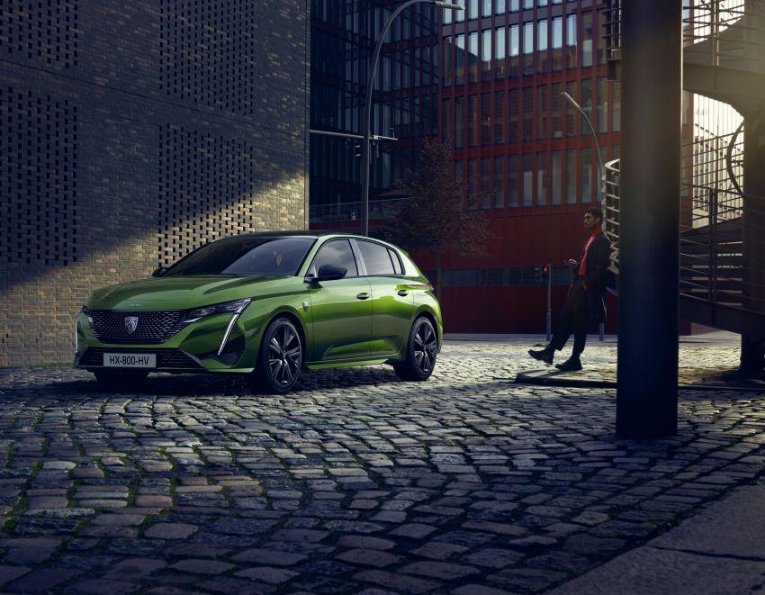2021 Peugeot 308 revealed – revised C-segment hatch gets new lion badge, bold design and two PHEVs Image #1265333