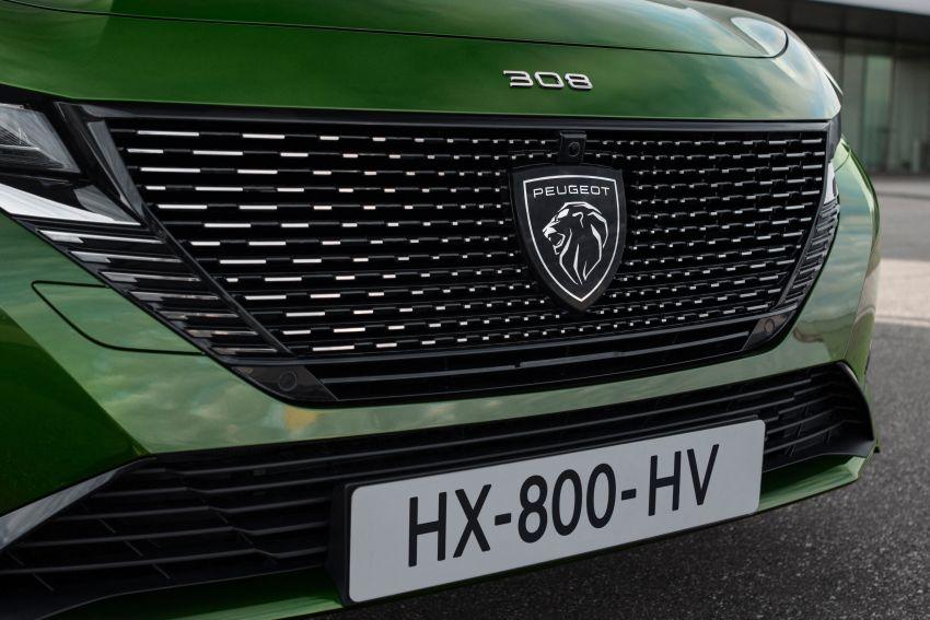 2021 Peugeot 308 revealed – revised C-segment hatch gets new lion badge, bold design and two PHEVs Image #1265412